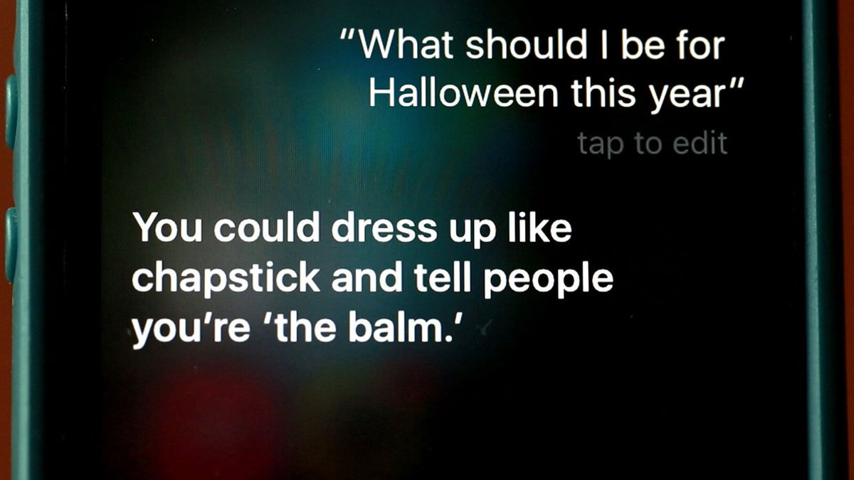 Sassy Siri can help anybody who needs a last-minute costume idea