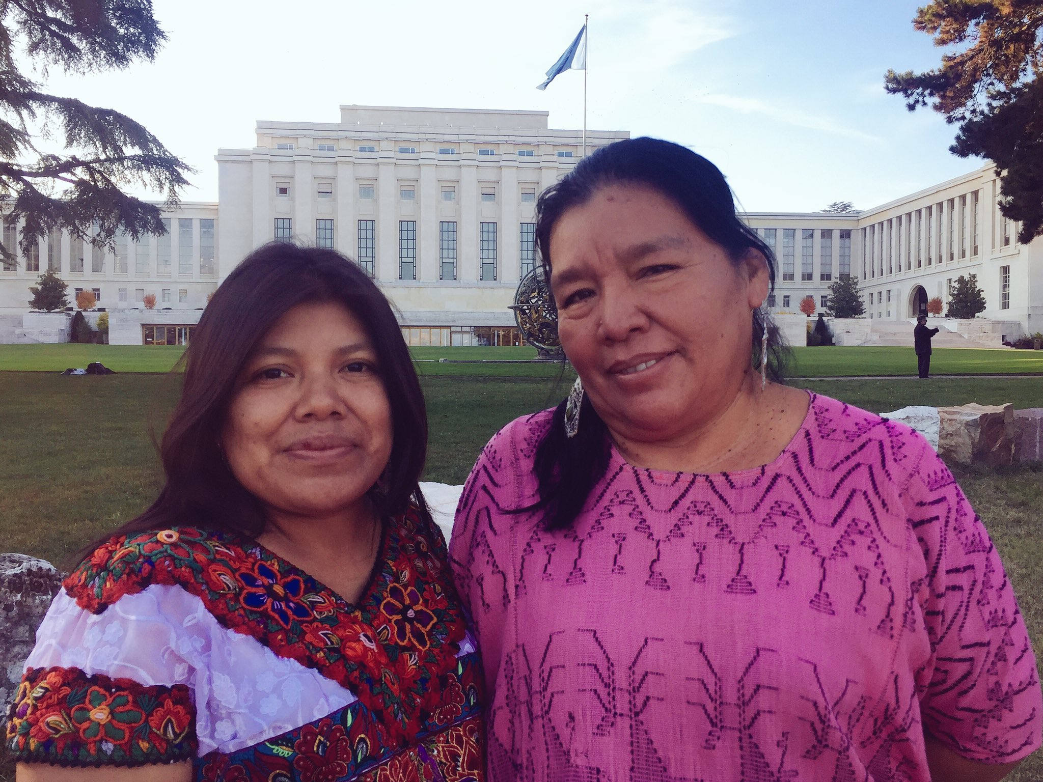 These 2 #RealWonderWomen are brave enough to come all the way from Guatemala to speak out against #CorporateAbuse #BindingTreaty https://t.co/WjJrFOemb6