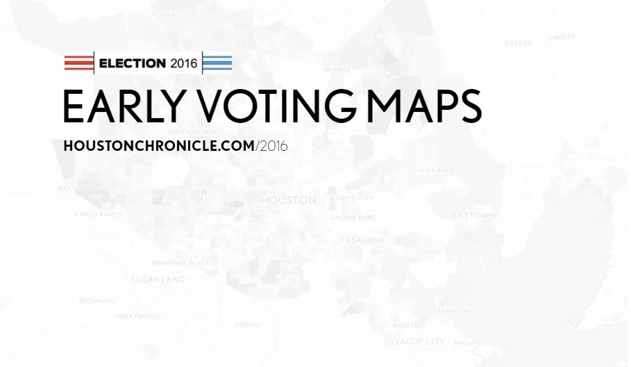Mapping Harris County's votes: What does this high turnout mean?