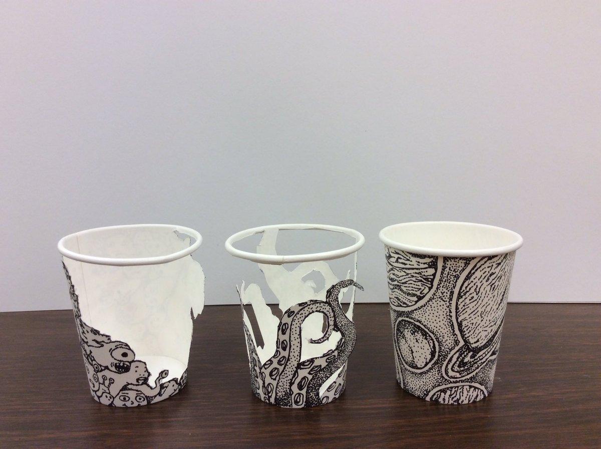art walton hs on twitter cool coffee cup drawings cobbartrocks