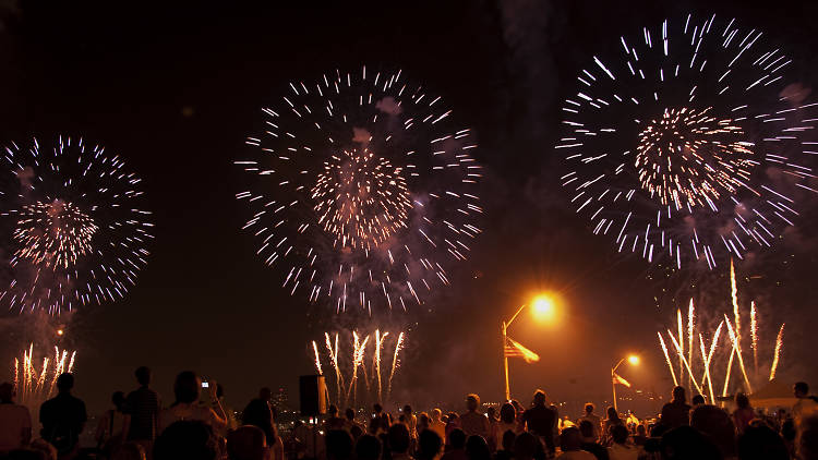 Where to watch fall and winter fireworks before the end of the year