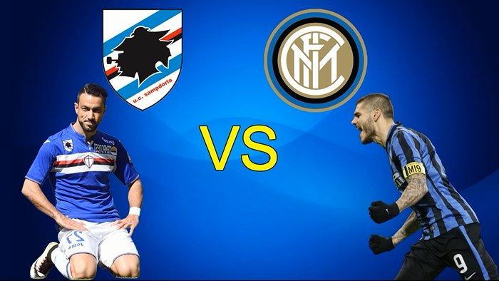 Vedere SAMPDORIA-INTER Rojadirecta Streaming e Diretta Calcio Gratis TV Oggi 30 ottobre 2016, come dove quando