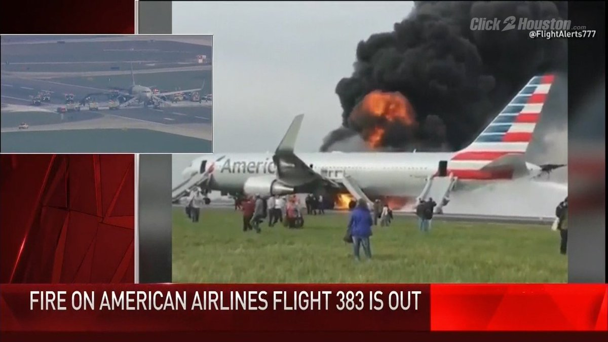 No injuries after plane fire, evacuation at Chicago airport kprc2
