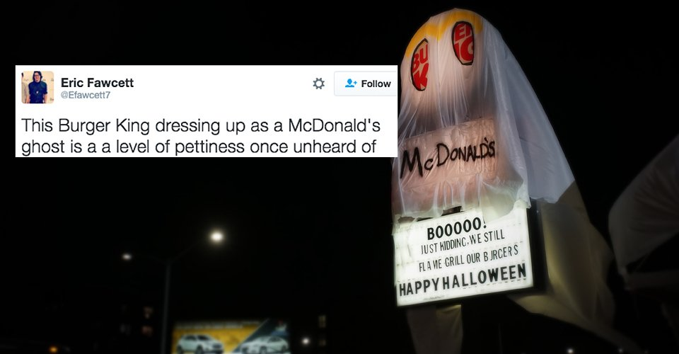 buzzfeed on twitter   u0026quot people are falling over after a burger king dressed up as a mcdonald u2019s