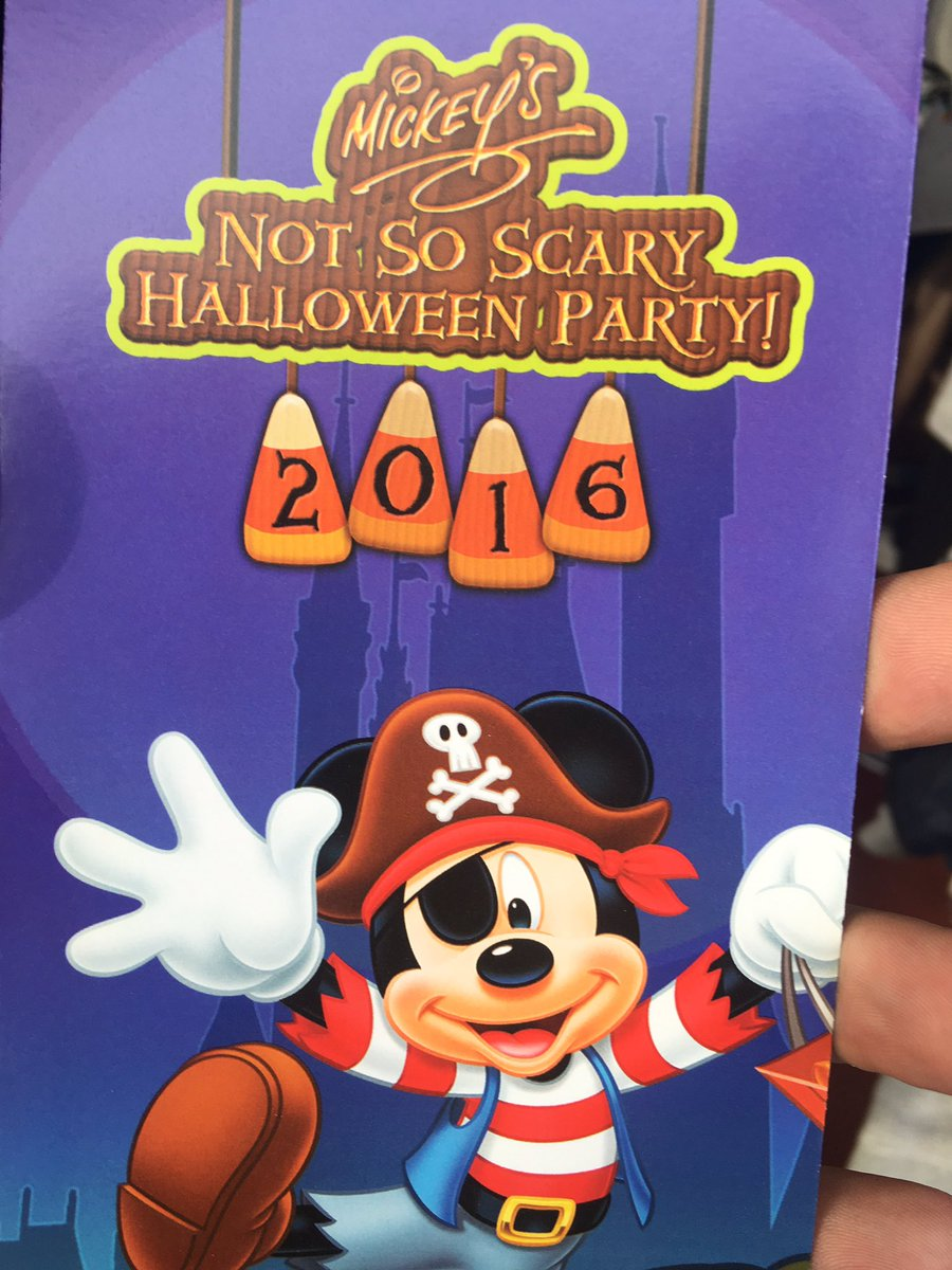 TPR at Mickey's Not-So-Scary Halloween Party 2016 - Theme Park Review