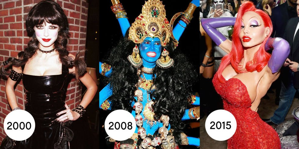 Every one of Heidi Klum's amazing Halloween costumes since 2000: https://t.co/5QQ1inVR0b https://t.co/CZHz0kVacv