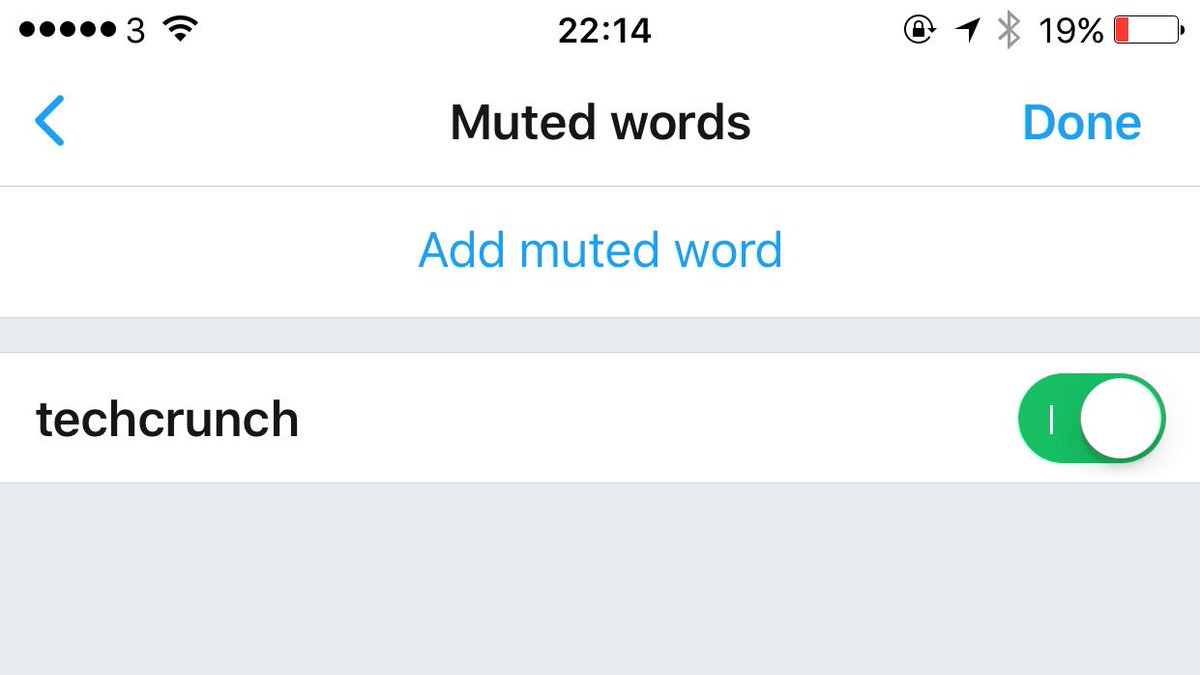 Twitter on iOS now lets you mute keywords and hashtags!!   h/t @KendallNKardash