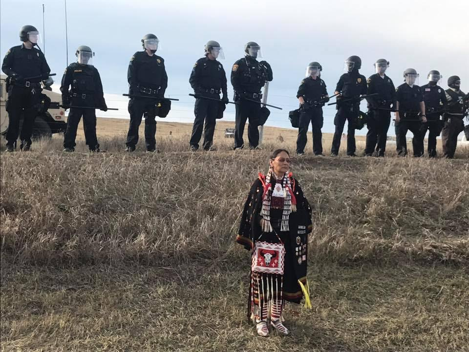 More astonishing images of courage and dignity emerging from Standing Rock #NoDAPL https://t.co/wyZ41NBpe4