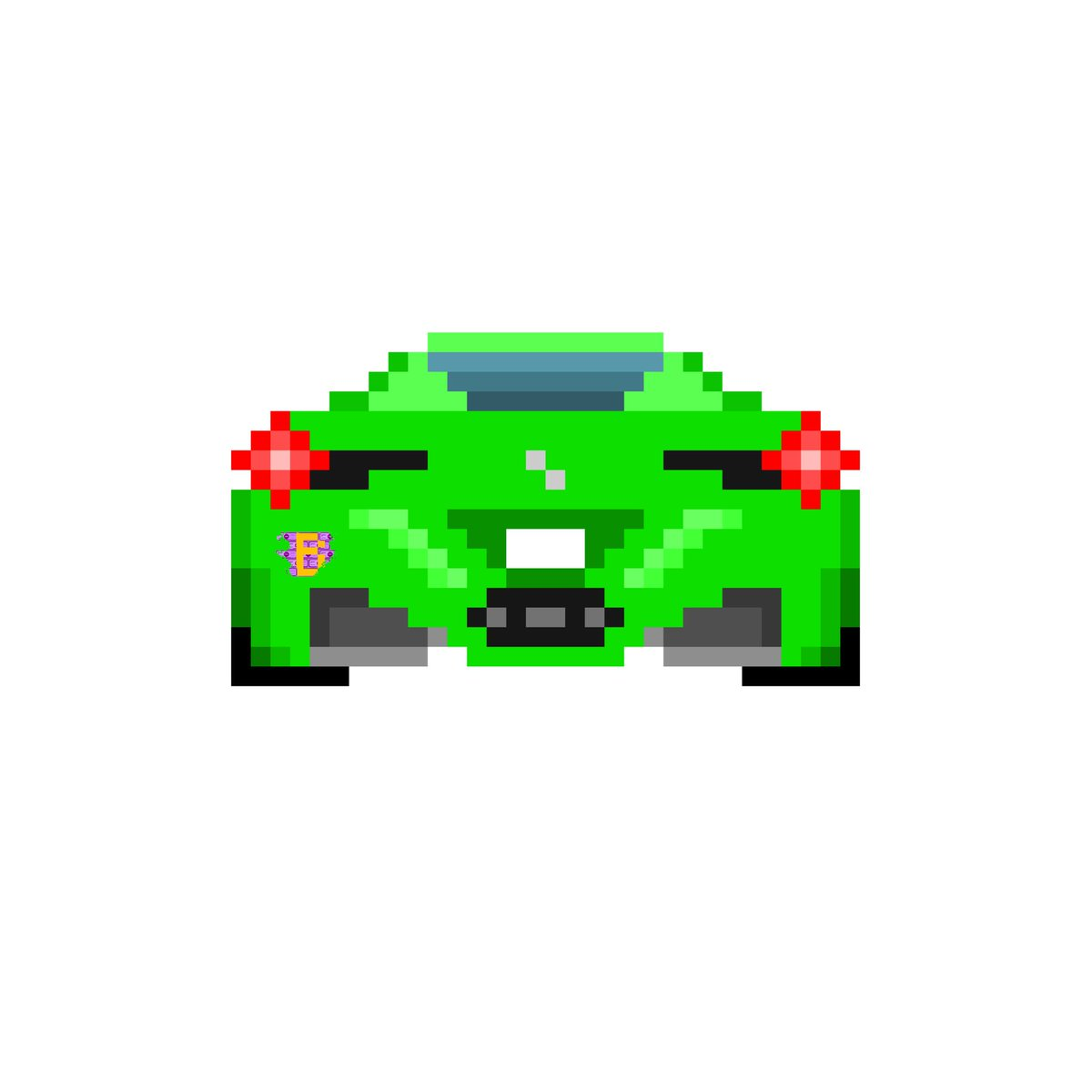 Superbrick On Twitter Ferrari 458 Pixel Art Pixelart Art