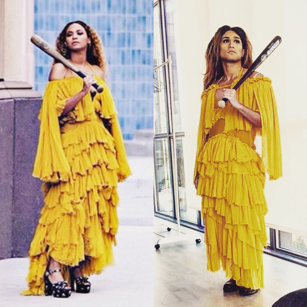 Holdup 2016 Toronto Costume Sorry Lemonadedress Lemonade Beyonce Beyhivepic Twitter