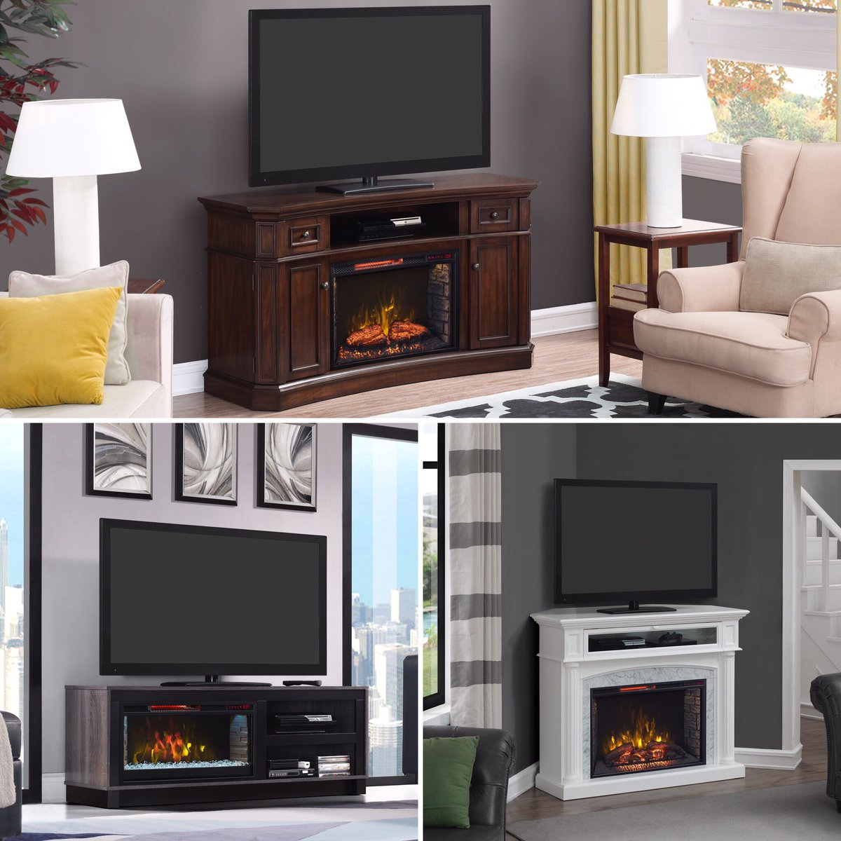 Electric Fireplaces Majestic S