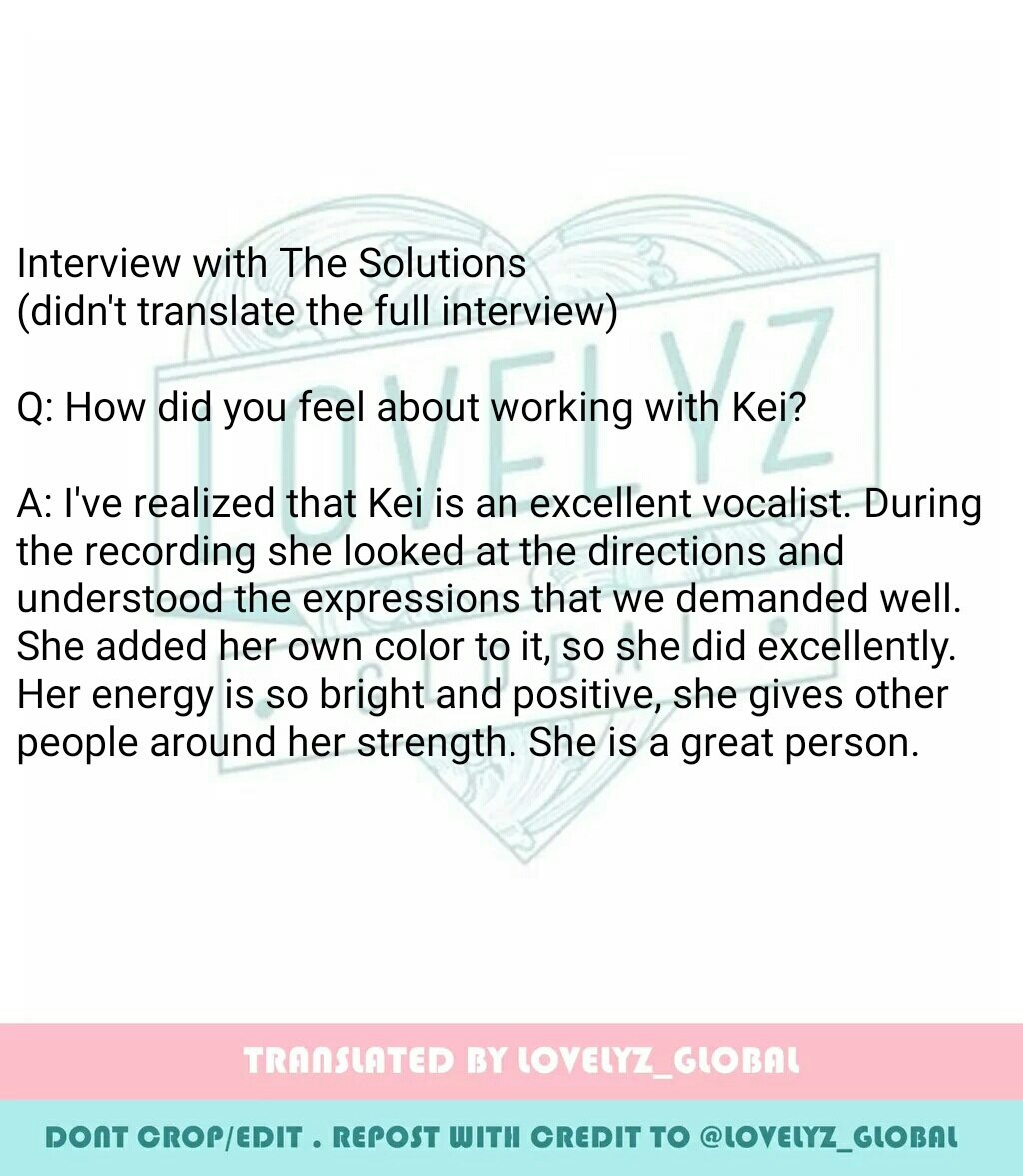 lovelyz global on trans kei x the solutions beautiful retweets 125