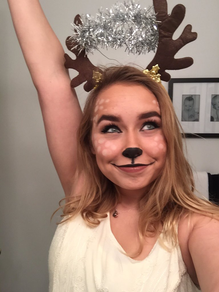 "heather on twitter: ""my halloween costume: oh deer god! yes my"