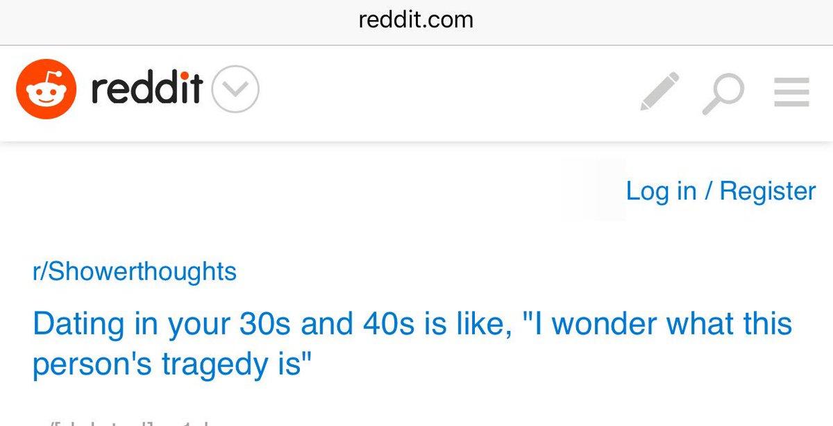 Reddit dating in your 30s