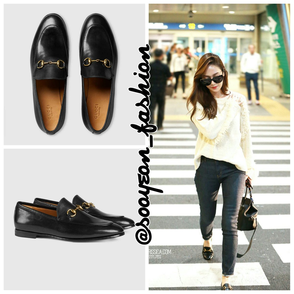 Gucci Jordaan leather loafer Gucci RHAA3