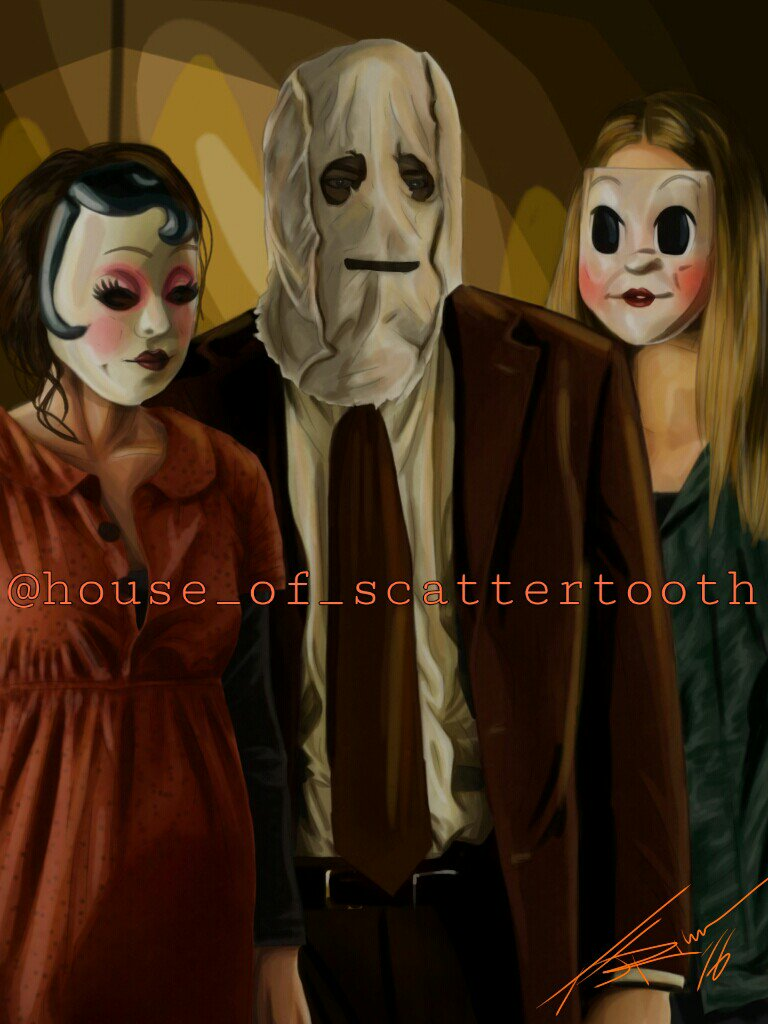 "scattertoothart on twitter: ""my portrait of #the strangers @livtyler"
