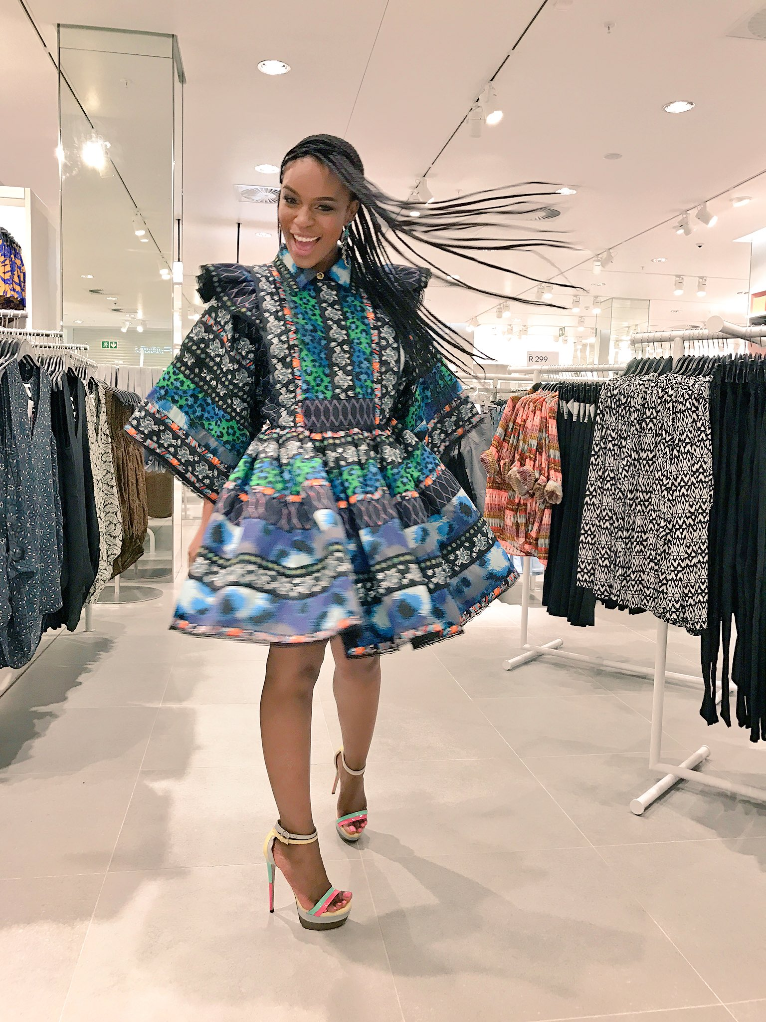 nomzamo mbatha on twitter   u0026quot thank you  hmsouthafrica for