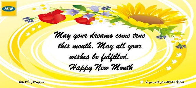 Mtn nigeria support on twitter happy new month to all our friends 1100 pm 31 oct 2016 m4hsunfo