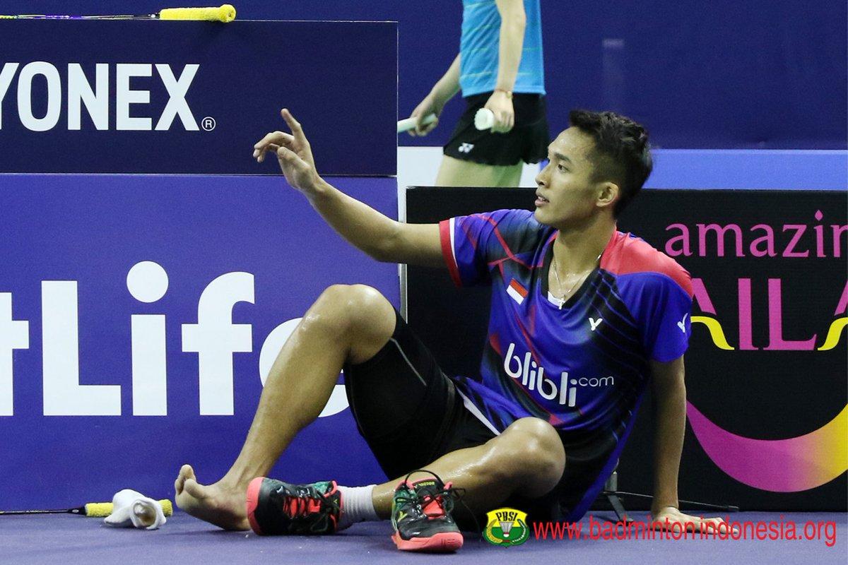 """Jonaddict on Twitter """"Jonatan vs Shi Yuqi di babak QF"""