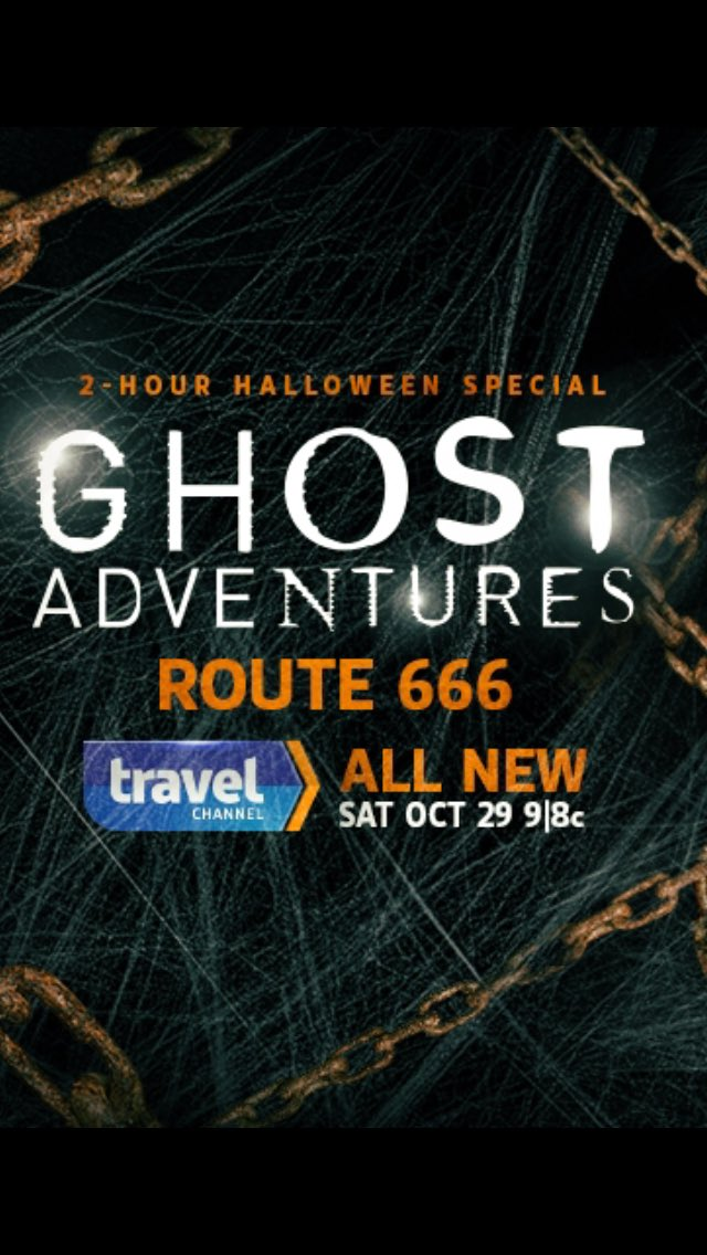 #GhostAdventures 2-House Halloween Special is tonight on the Travel Channel! #Route666 Don't miss this dark journey! https://t.co/b9h9QIqSPv