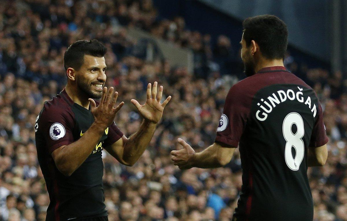 İlkay Gündoğan'ın Manchester City'deki golü