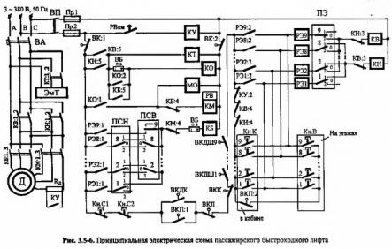 принципиальная электрическая схема тв