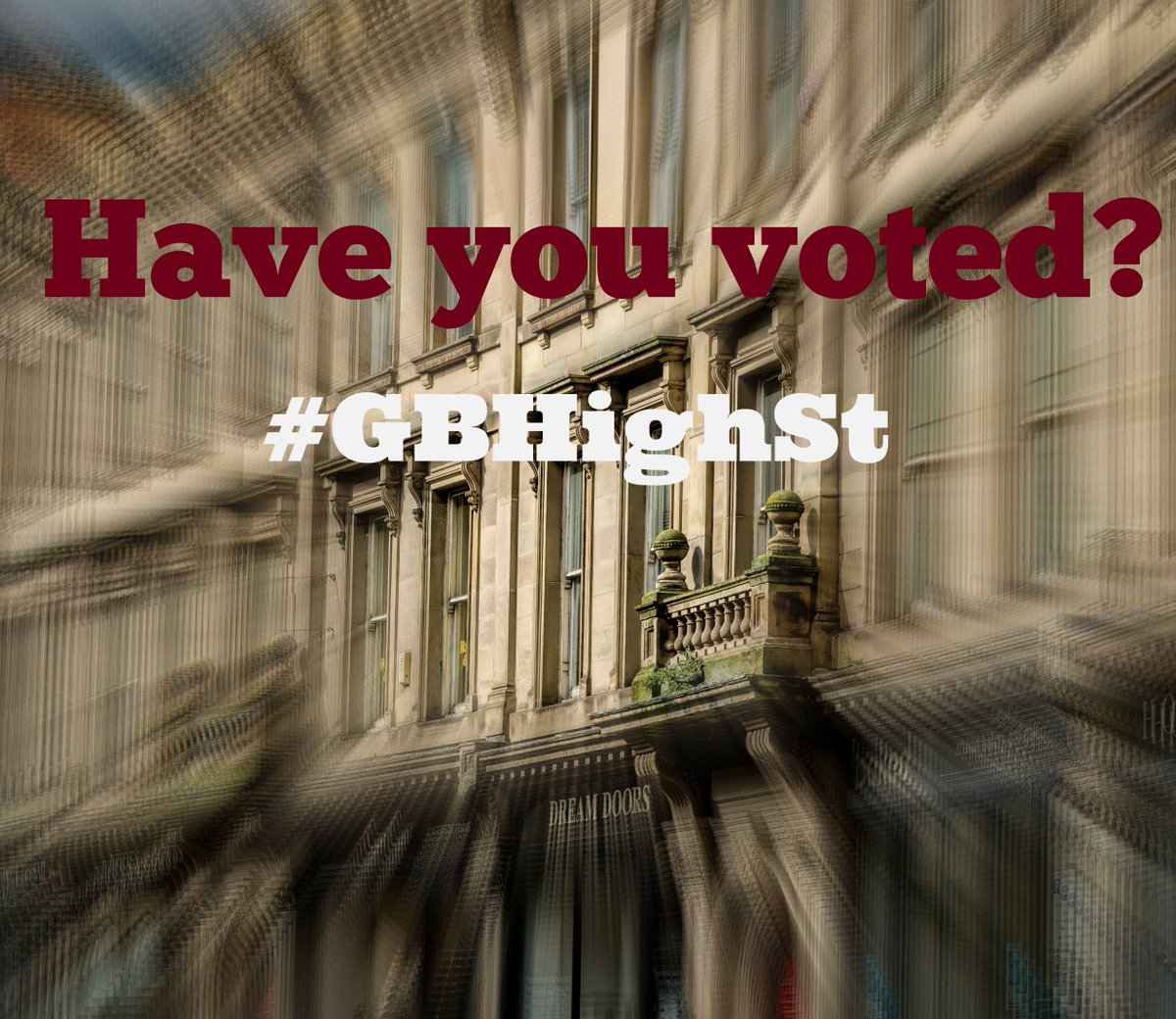 Please help us to win this year's award by voting now: ow.ly/RGM5305oOfO #GBHighSt