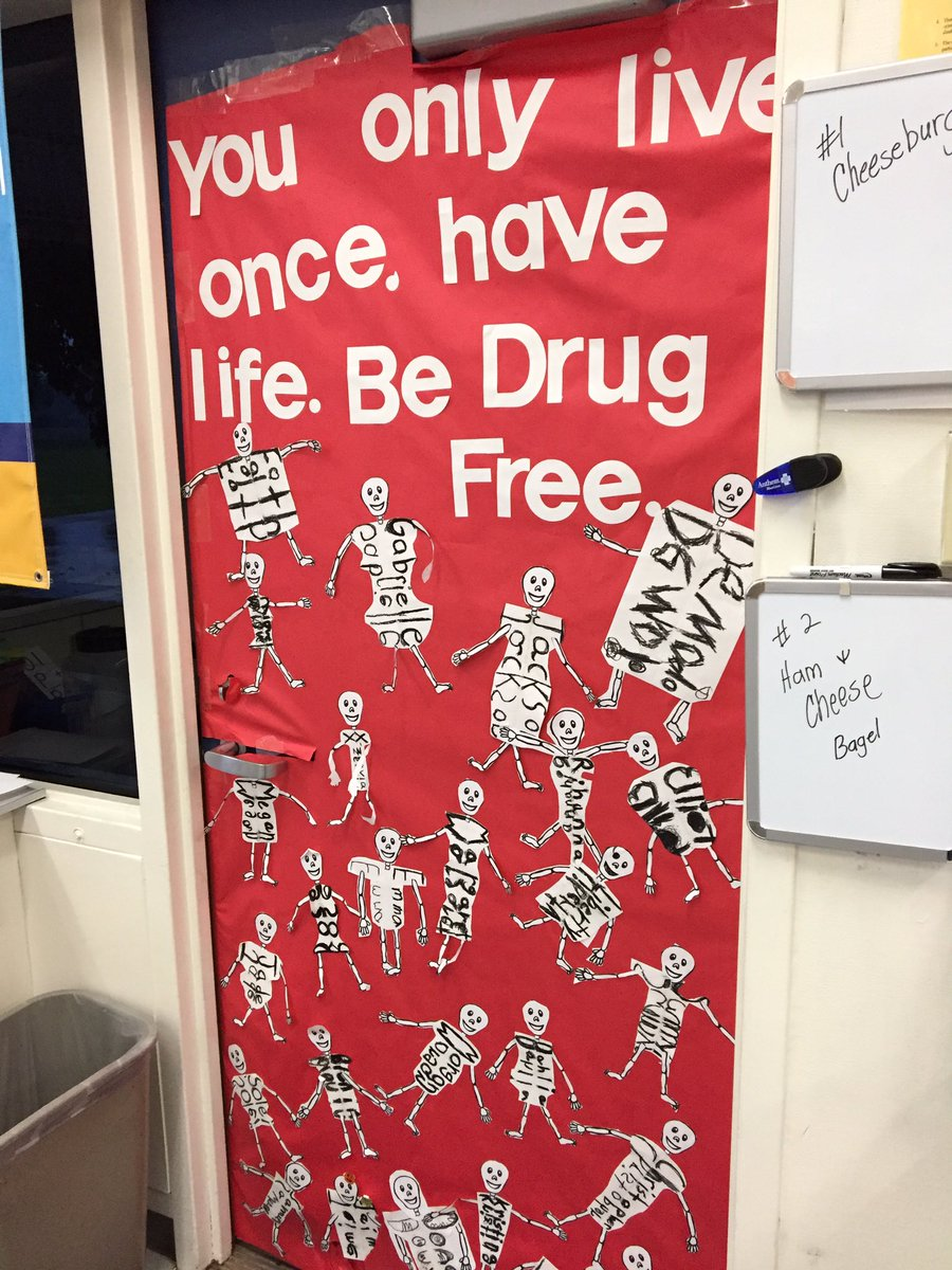 Encouraging a drug free life with a Halloween theme #excellenceforall