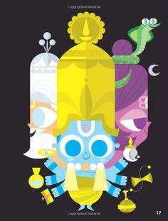 4. ¿Pero a qué dios? Porque el panteón hindú tiene muchísimos dioses. Pues a los tres dioses principales, que forman el Trimurti. https://t.co/llFfbqEJXb