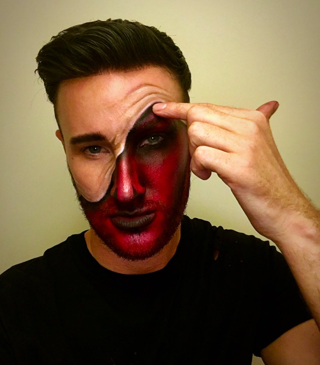 Halloween Makeup Devil.Alex Henry On Twitter The Devil Inside Halloween Makeup