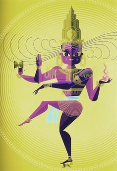 7. Y el tercer dios es Shiva. El destructor. También se representa de varias formas. La más célebre, Shiva Nataraja, el bailarín cósmico. https://t.co/4GaqSiNpVw