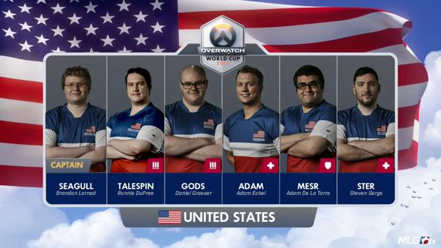 b973a3330 Team USA in their new jerseys   Competitiveoverwatch