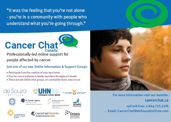 cancer support group online chat