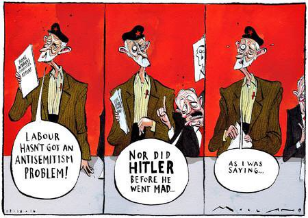 Image result for Corbyn antisemitism cartoons