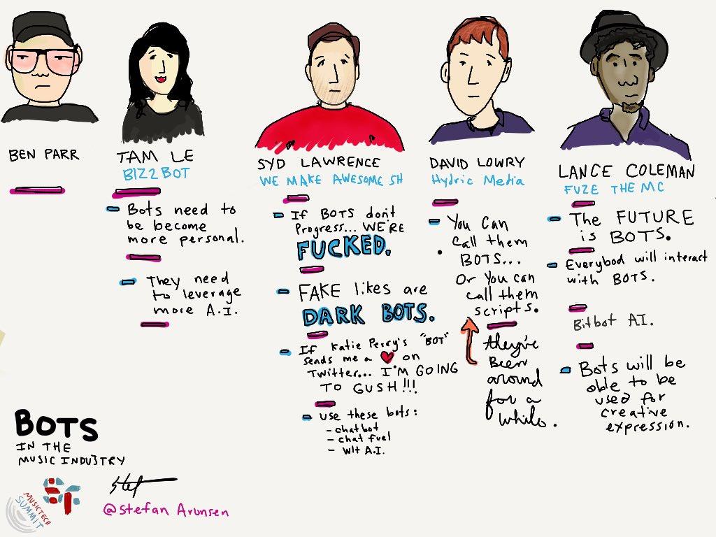 Bots in The Music Industry #SFMusicTech @SFMusicTech https://t.co/wuvRpCvaDg