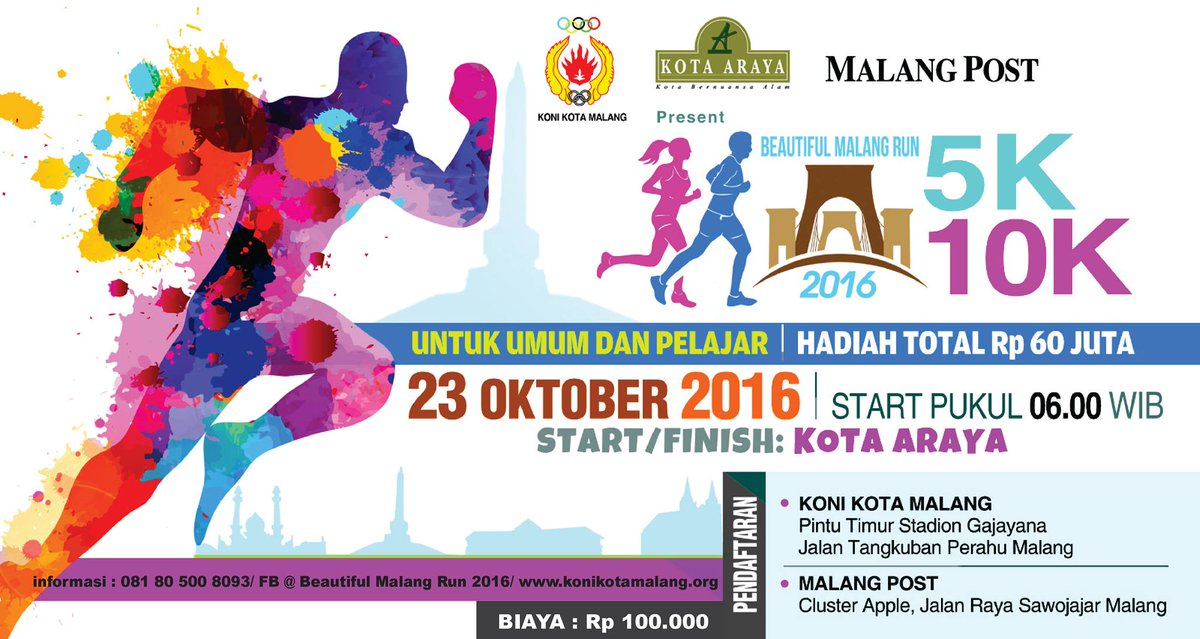 Beautiful Malang Run 2016