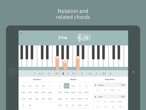 Monica Burns On Twitter Cheeky Fingers Piano Chord Dictionary App