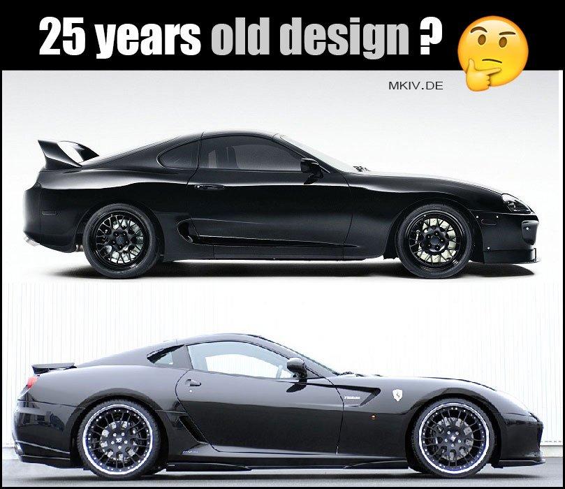 Supra Mkiv Auf Twitter Which One Do You Prefer Toyota Supra Vs Ferrari 599