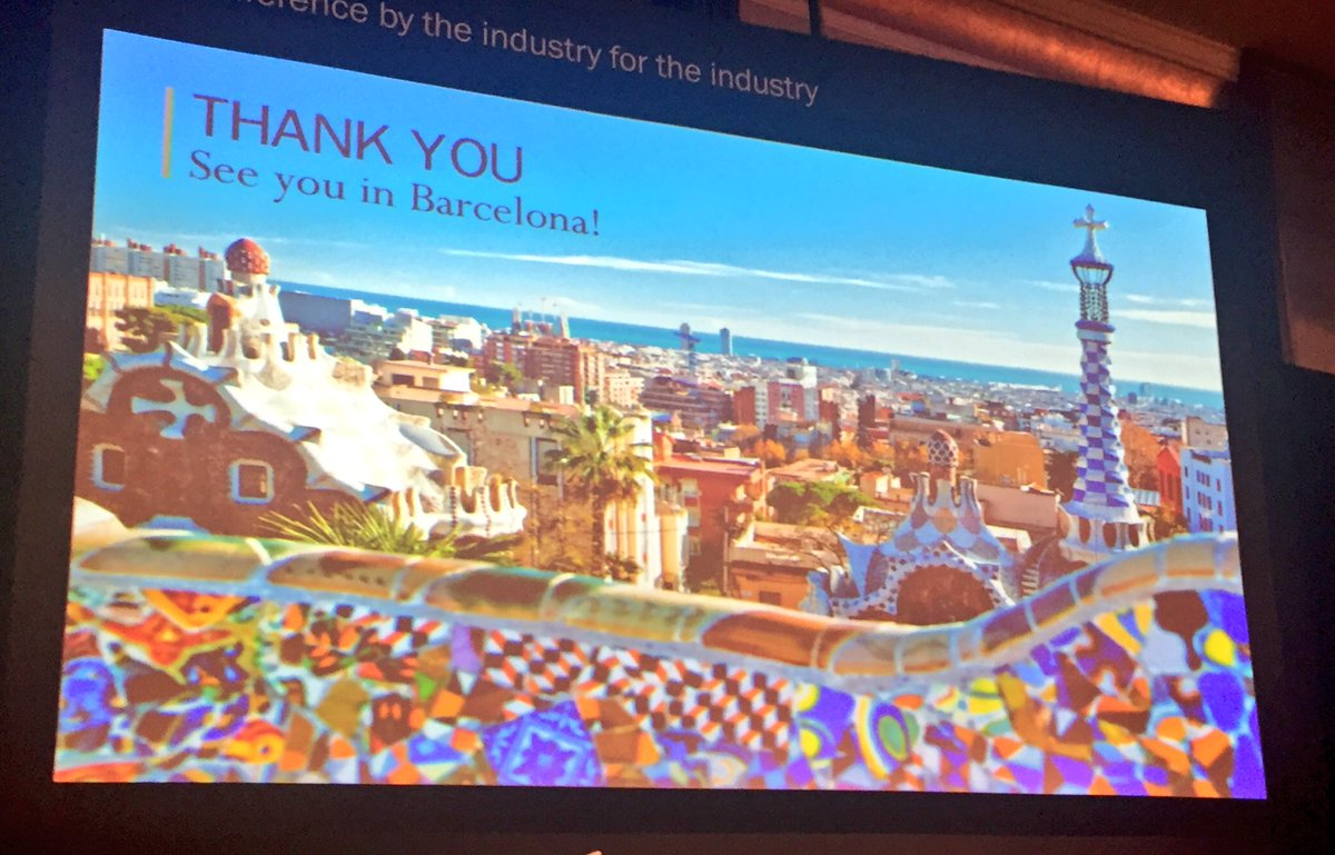 """lbma on twitter: """"thank you for coming. see you in barcelona, 2017"""