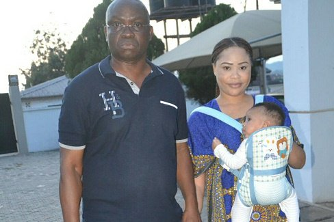 Facts emerged why EFCC arrested wife of Femi Fani-Kayode, Precious Chikwendu and  his eight months old baby,  Aragorn, in Ado-Ekiti, Ekiti state.