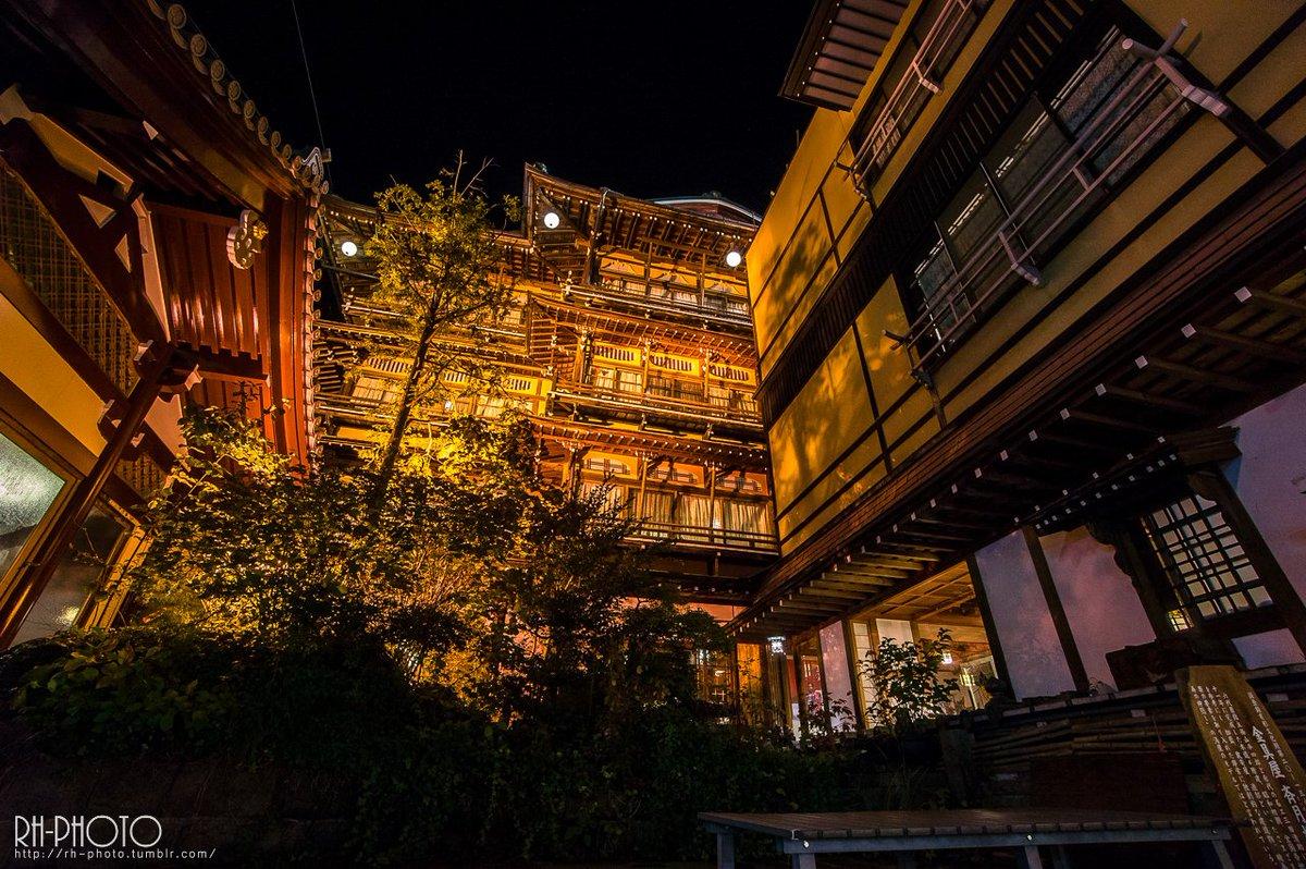 長野の金具屋という温泉旅館に行ってきました。格好いいにも程がある…夜の金具屋 タンブラーにも写真あげてます https://t.co/KvqfqaRVq7長野-金具屋 https://t.co/pz1dxSnYbu
