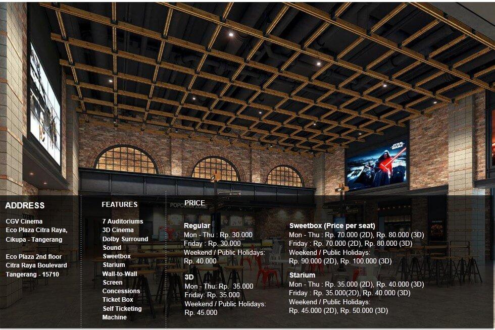 Cgv Cinemas V Twitter Tweeps Ini Dia Daftar Harga Tiket