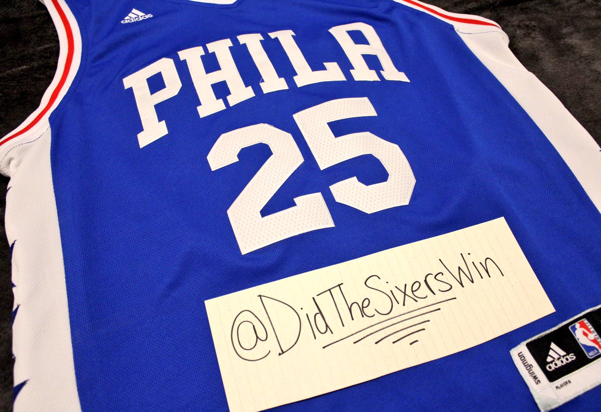 RT for a chance to win (must be following). Winner chosen at halftime of  Sixers-Thunder 90b7055cf