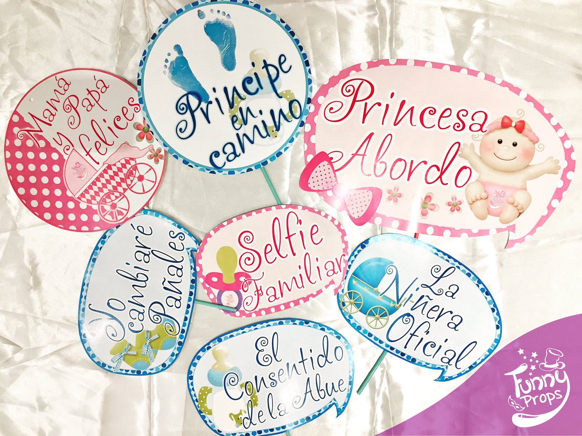 Baby Shower Status ~ Funnyprops on twitter quot letreros baby shower carteles