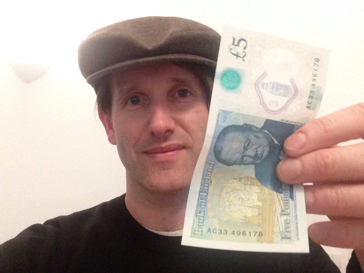 Got my #firstfiver yesterday. I'll be donating it to @alzheimerssoc for their great work and in memory of my Dad https://t.co/a4NbsHY5oJ