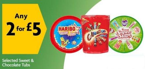 Hotukdeals On Twitter Sweet Tubs Haribo Share The Fun