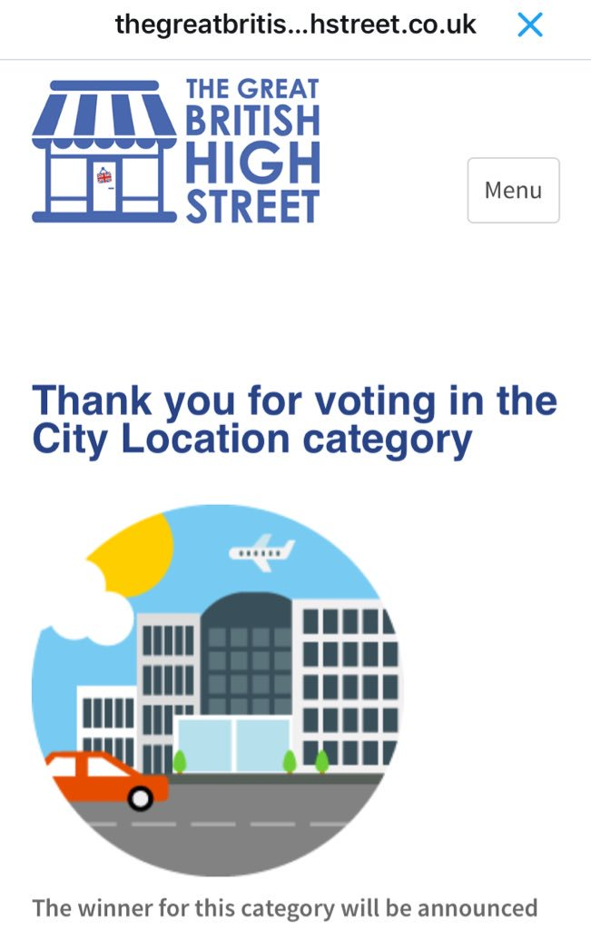 @DerbyCQ @TheGBHighSt voted for our lovely city #Derby ☺️