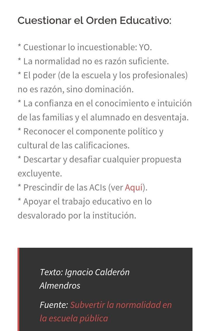 Necesitamos un cambio de #RumboEducativo. Gracias por los apuntes, @icalmendros https://t.co/9KfJpXmTYN