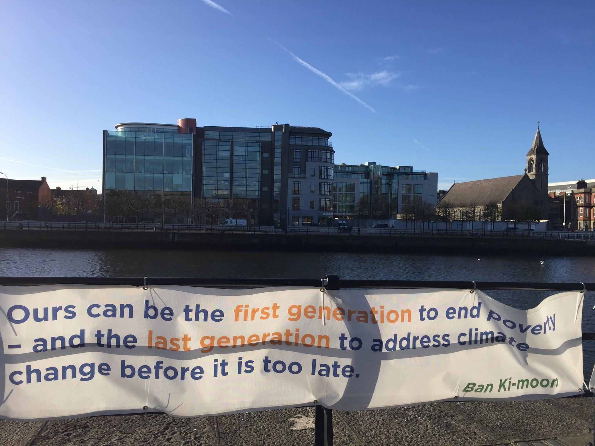 Remembering the #SDGs in Dublin�� #climatechange #cities https://t.co/naN6GSJKHL