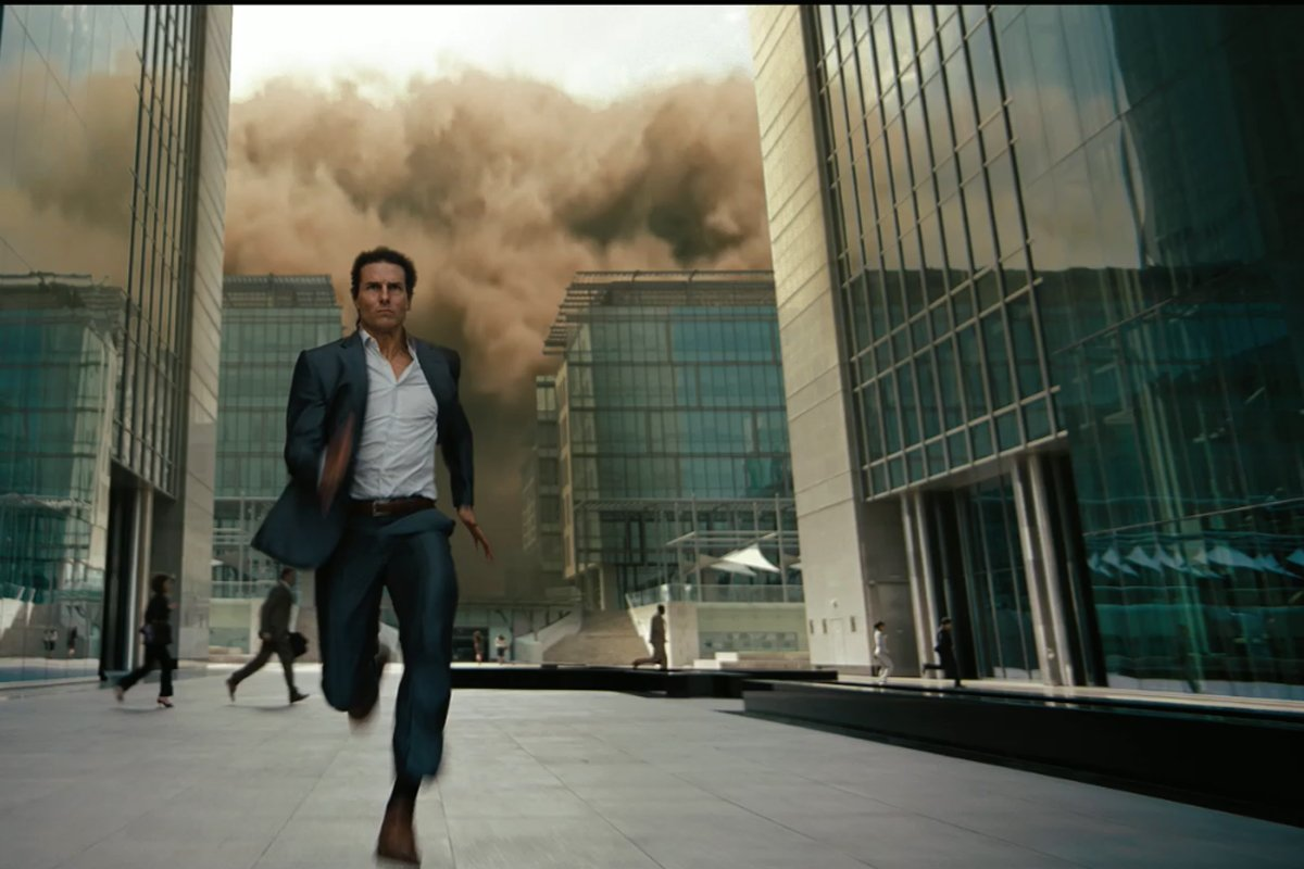 Mission impossible 3 running scene in movie